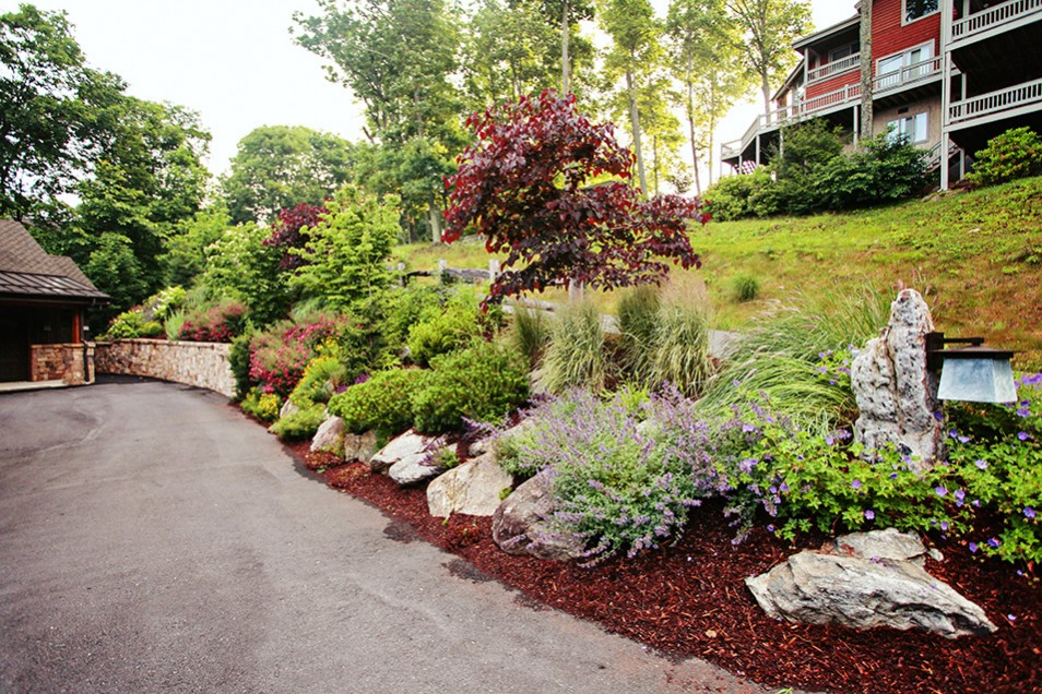 Burnsville Mountain Landscape Design