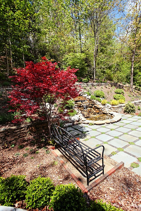 North Asheville Contemporary Landscape Design