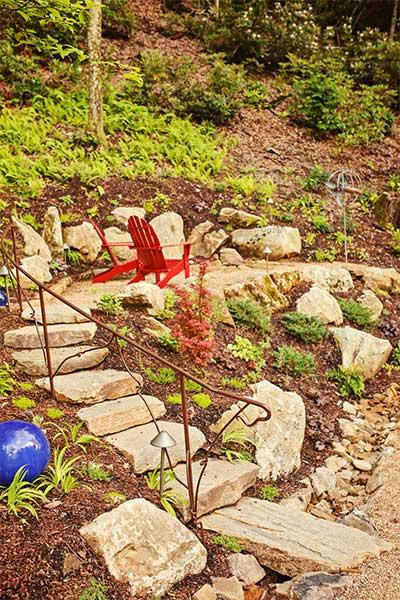 The Settings Hillside Modern Landscape Design