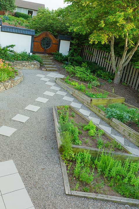 Town Mountain Landscape Design By Gardens For Living