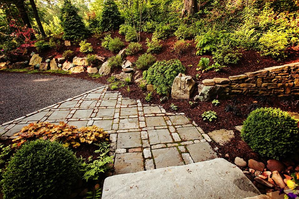 Black Mountian Landscape Design on Mountain Backyard Ideas id=35345