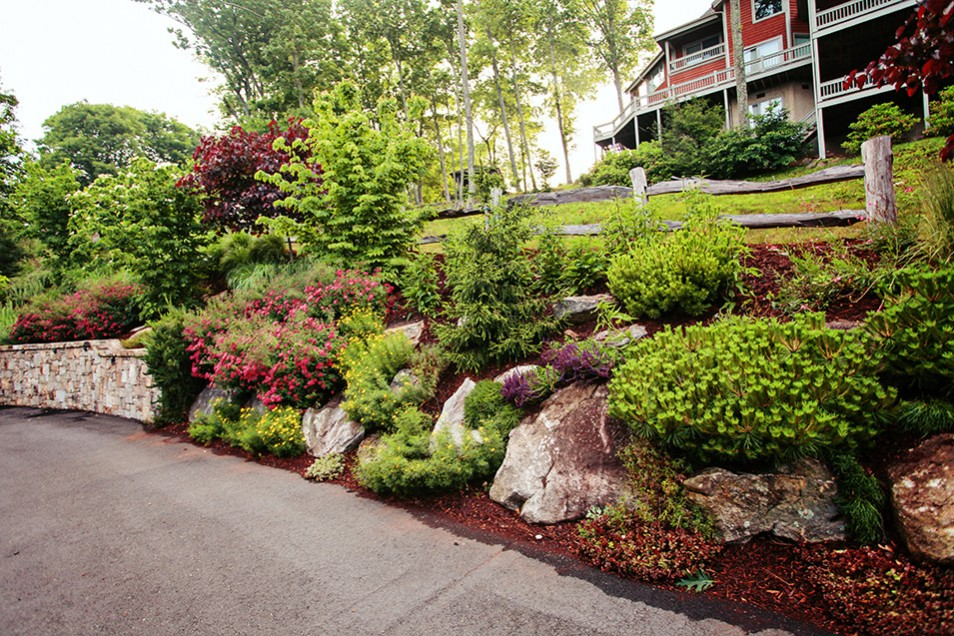 Burnsville Landscape Design by Gardens for Living on Mountain Backyard Ideas id=63708