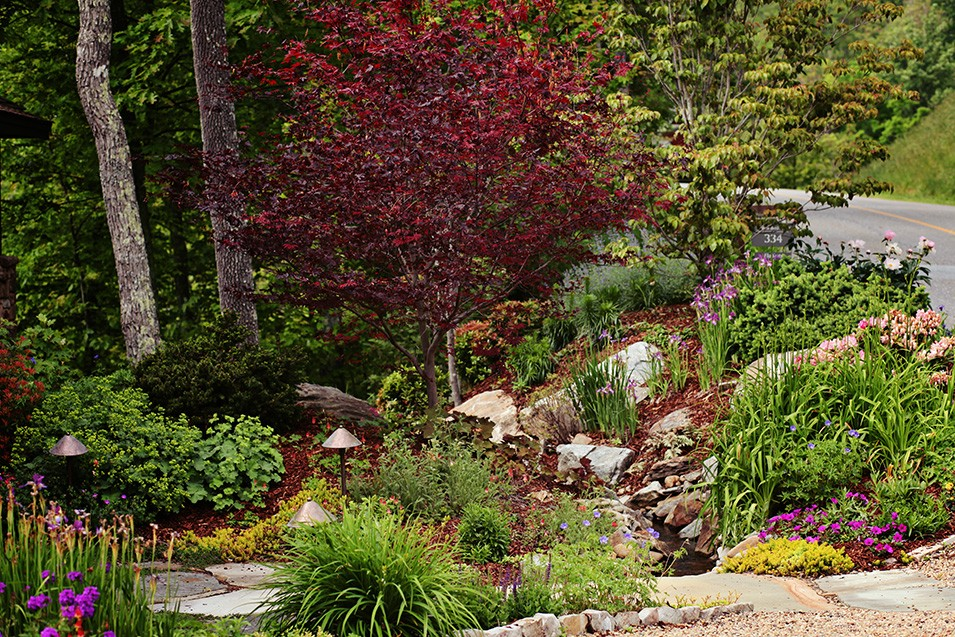 Mountain Air Landscape Design by Gardens for Living on Mountain Backyard Ideas id=53251